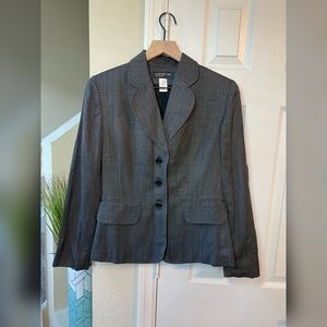 Jones New York Gray Women Stretch Blazer